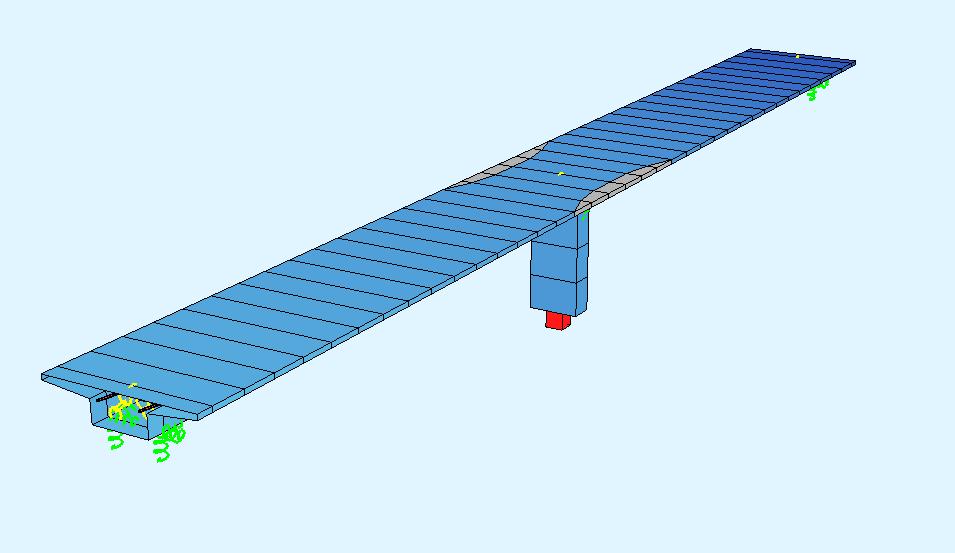 Post Tensioning Beam : Post tensioned concrete beam bridge — sofistik tutorials