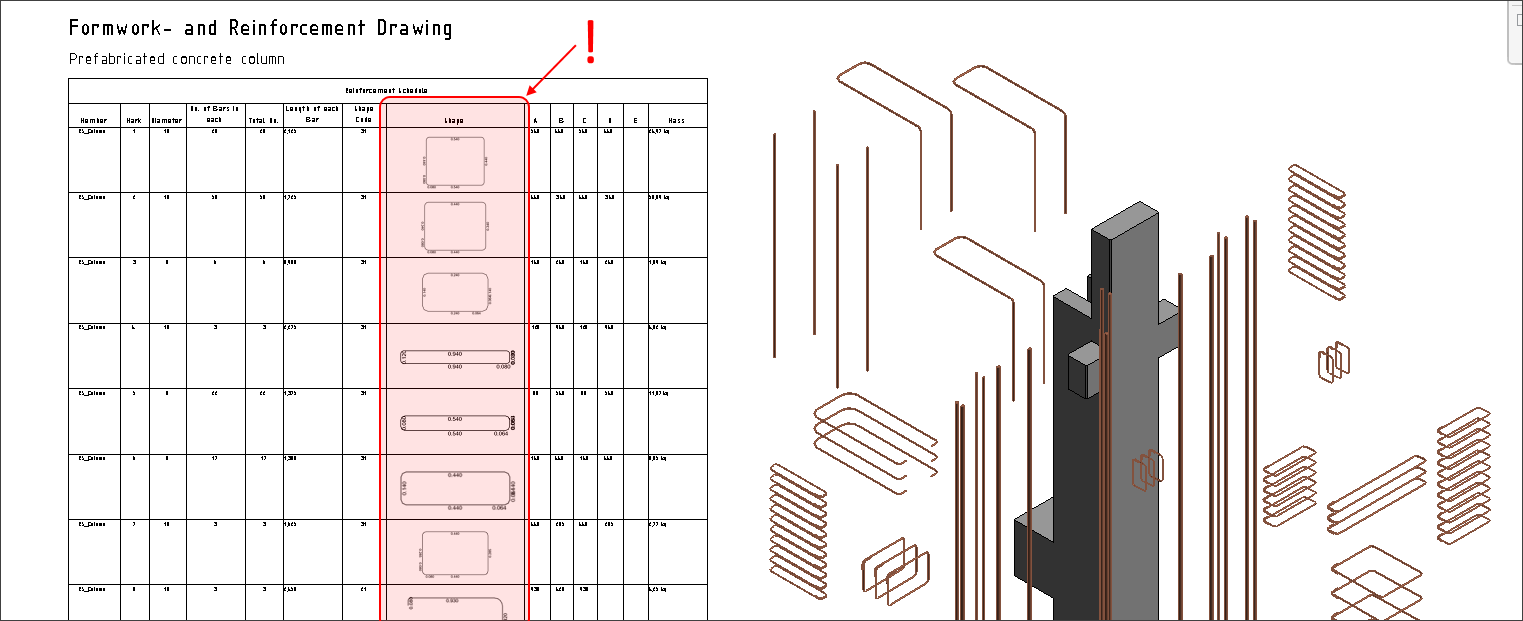 Tip: How to insert Shape Images to Revit Schedules
